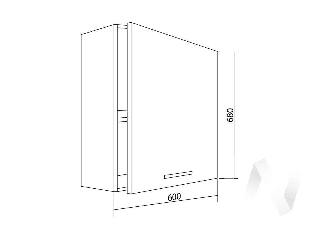 "Шкаф навесной (600) ""Белла"" СТЛ.281.02"