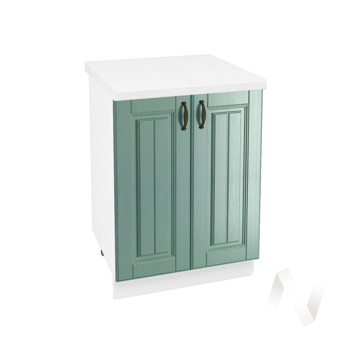 "Кухня ""Прованс"": Шкаф нижний 600, ШН 600 новый (корпус белый)"