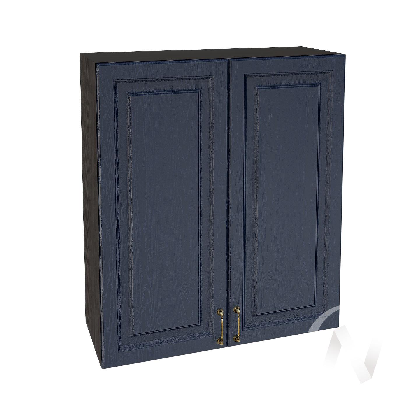 """Кухня """"Ницца"""": Шкаф верхний 809, ШВ 809 (Дуб чернильный/корпус венге)"""