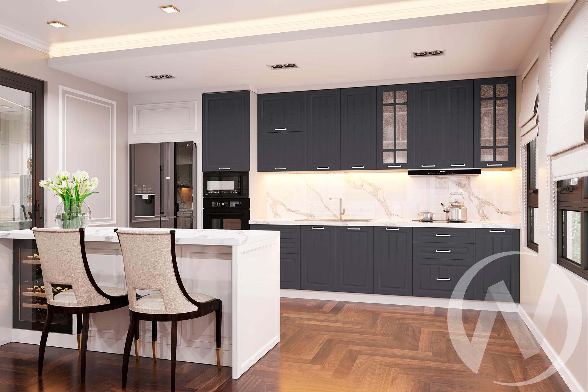 """Кухня """"Луксор"""": Высокие модули (корпус белый)"""