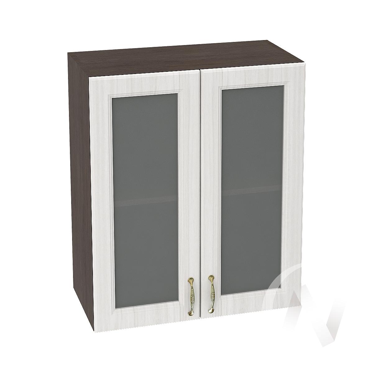 """Кухня """"Виктория"""": Шкаф верхний со стеклом 600, ШВС 600 новый (корпус венге)"""