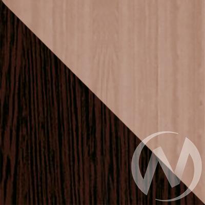 Шкаф-купе «Жаклин» 2-х дверный тройной ЛДСП (ясень шимо темный/венге)  в Томске — интернет магазин МИРА-мебель