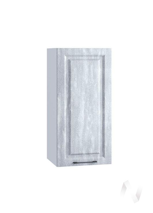 "Кухня ""Либерти"": Шкаф верхний 409, ШВ 409 (Холст натуральный/корпус белый)"