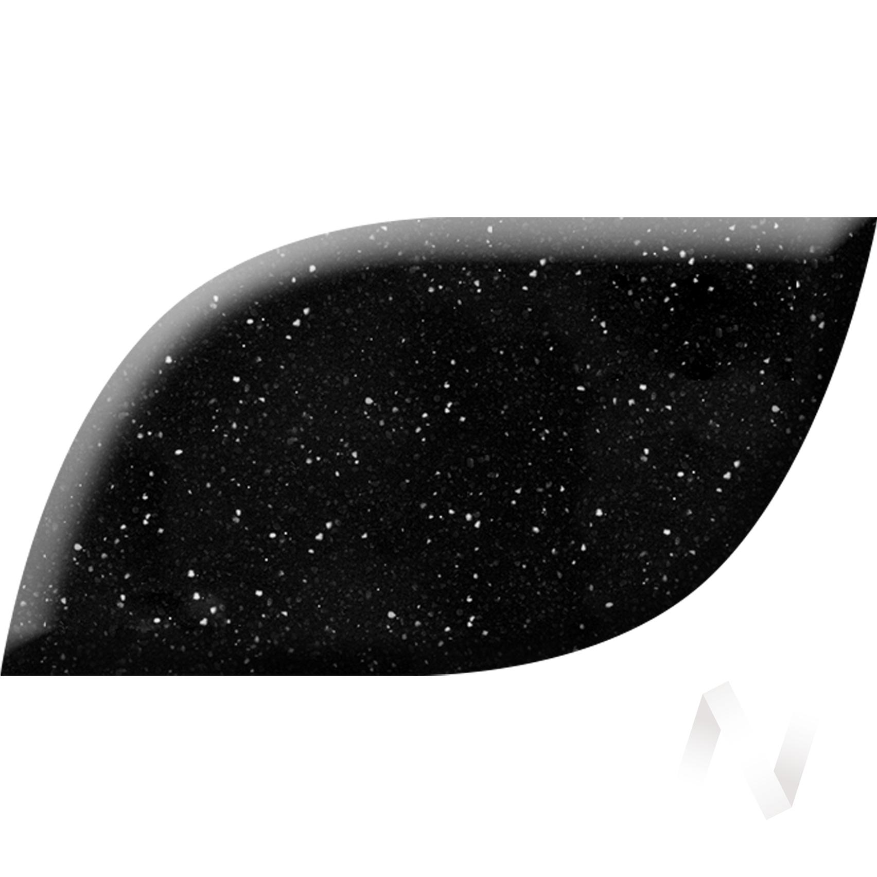 Мойка из искусственного камня Light 5 без фрезы и сифона (чёрный)  в Томске — интернет магазин МИРА-мебель