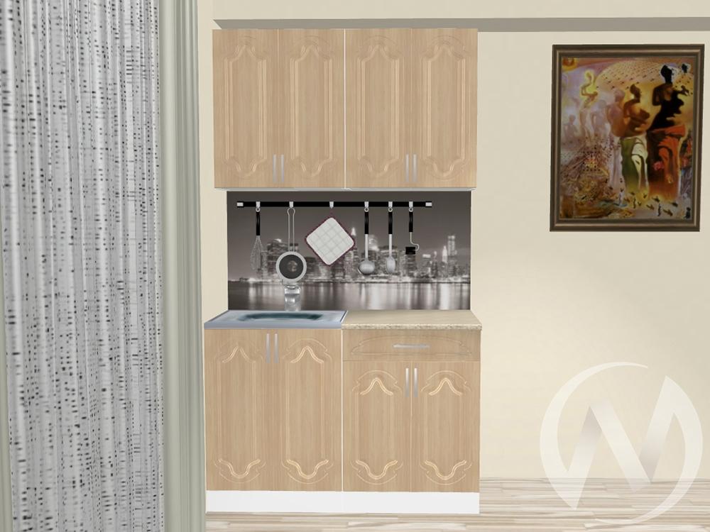 """Кухня """"Настя"""" 1.2м (Береза/корпус белый) корпусно-фасадная  в Томске — интернет магазин МИРА-мебель"""