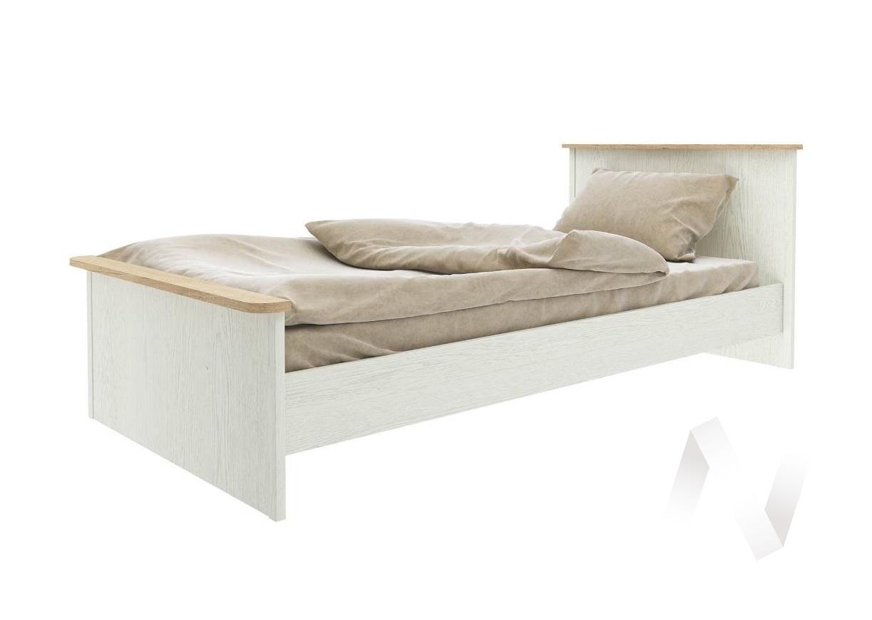 """Кровать 0,9 """"Тифани"""" СТЛ.305.04 (Дуб небраска/Белый)"""