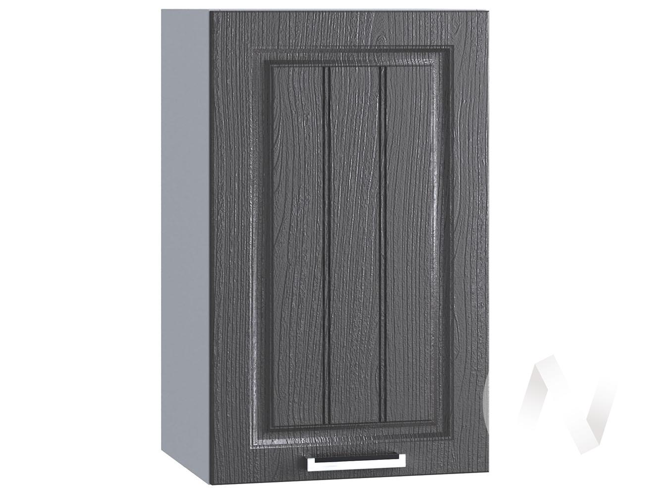 "Кухня ""Луксор"": Шкаф верхний 400, ШВ 400 (Клён серый/корпус белый)"