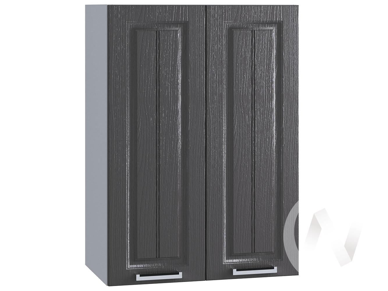 "Кухня ""Луксор"": Шкаф верхний 609, ШВ 609 новый (Клён серый/корпус белый)"