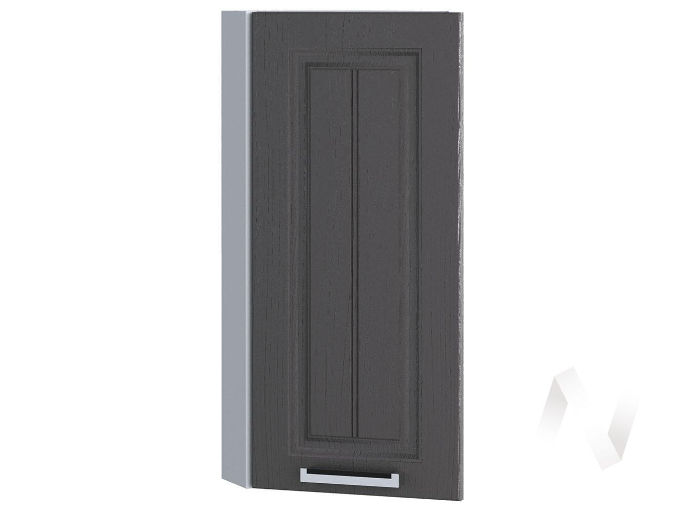 "Кухня ""Луксор"": Шкаф верхний торцевой 224, ШВТ 224 (Клен серый/корпус белый)"