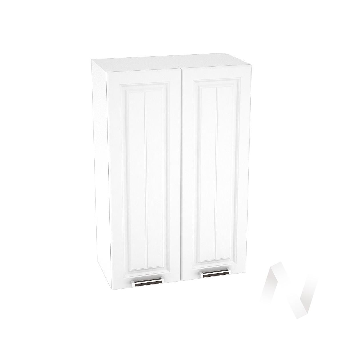 """Кухня """"Прага"""": Шкаф верхний 609, ШВ 609 новый (белое дерево/корпус белый)"""