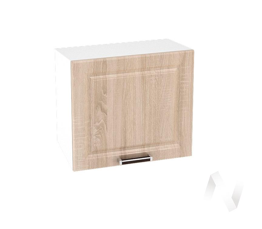 "Кухня ""Прага"": Шкаф верхний горизонтальный 509, ШВГ 509 (дуб сонома/корпус белый)"