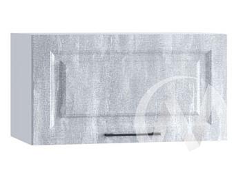 "Кухня ""Либерти"": Шкаф верхний горизонтальный 600, ШВГ 600 (Холст натураль/корпус белый)"