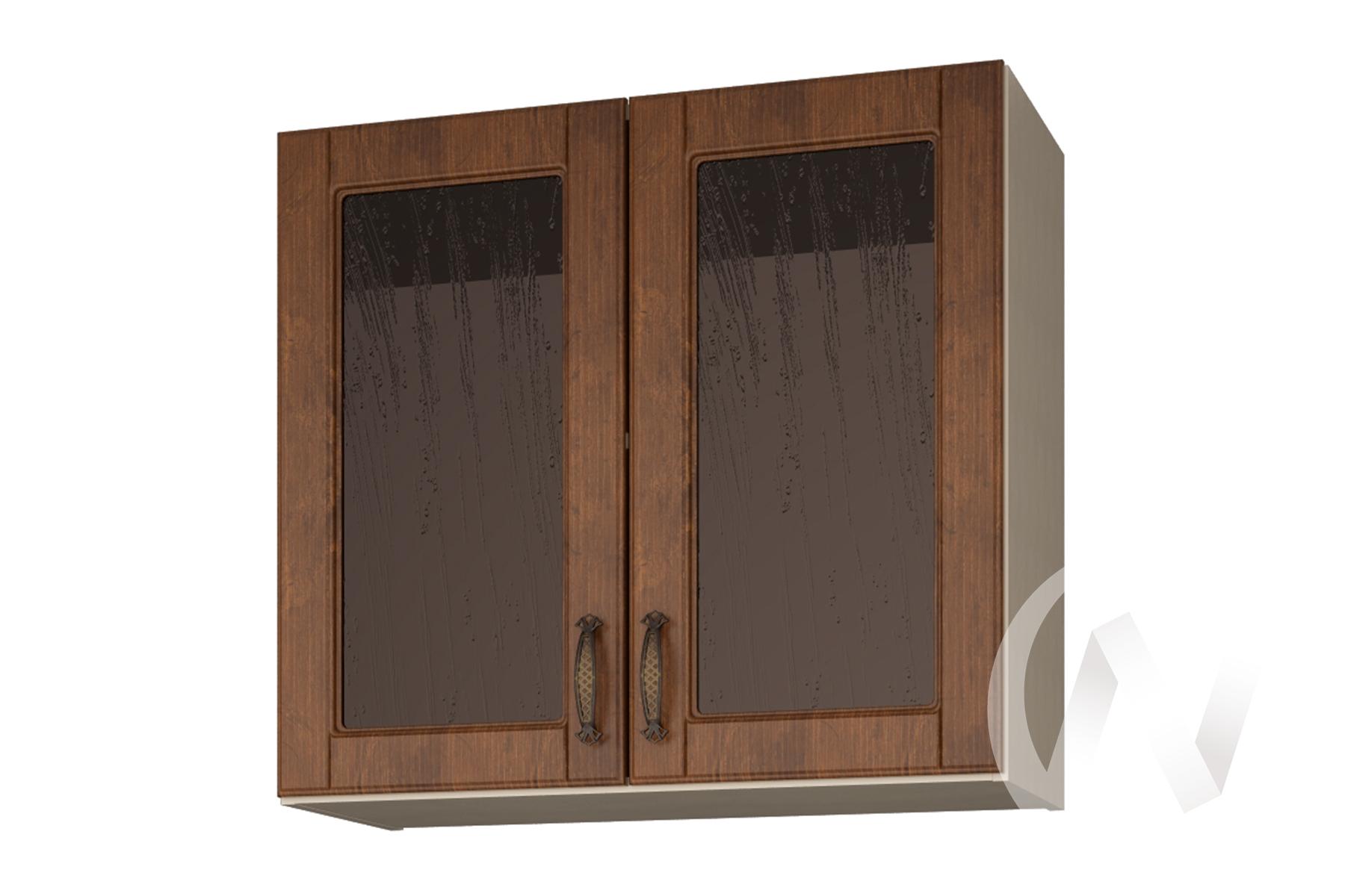 """Шкаф навесной со стеклом 800 """"Николь"""" Прованс"""
