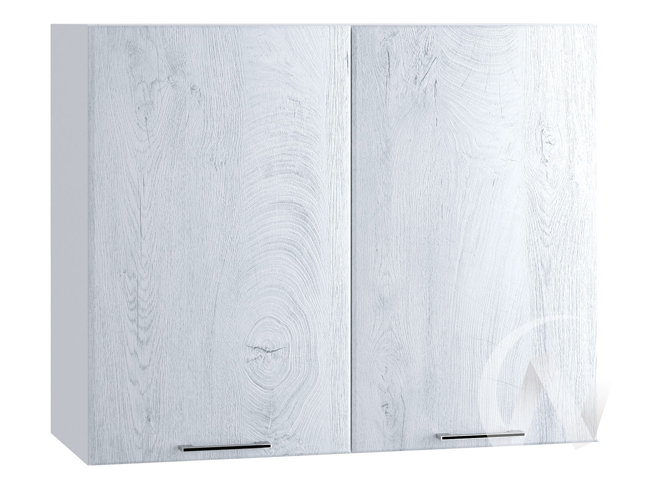 "Кухня ""Палермо"": Шкаф верхний 800, ШВ 800 (Дуб остин серый/корпус белый)"