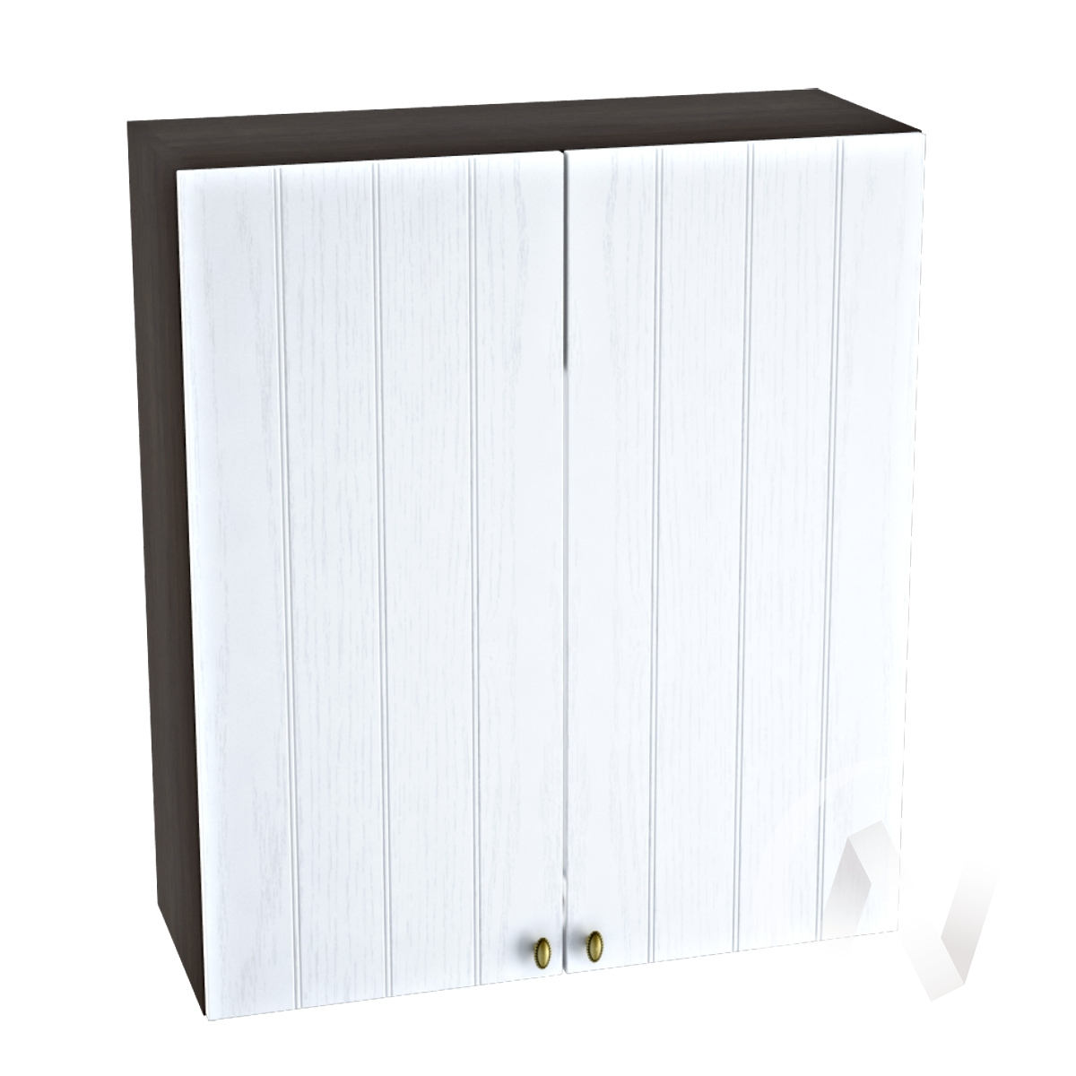 "Кухня ""Прованс"": Шкаф верхний 809, ШВ 809 (белое дерево/корпус венге)"