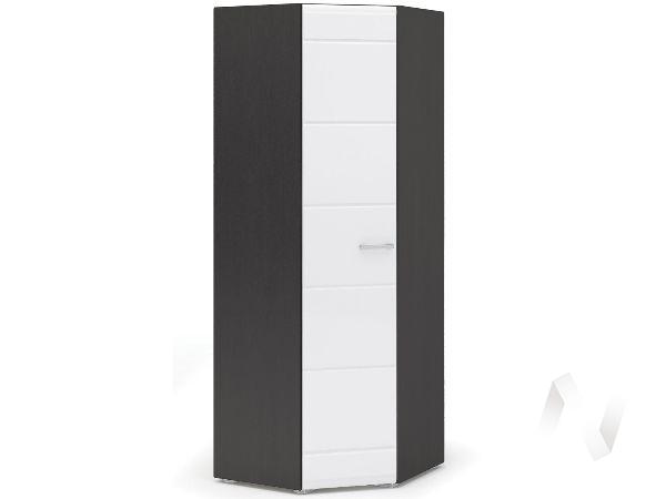 Шкаф угловой Спальня Вегас (венге/белый глянец)