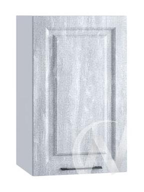 "Кухня ""Либерти"": Шкаф верхний 400, ШВ 400 (Холст натуральный/корпус белый)"