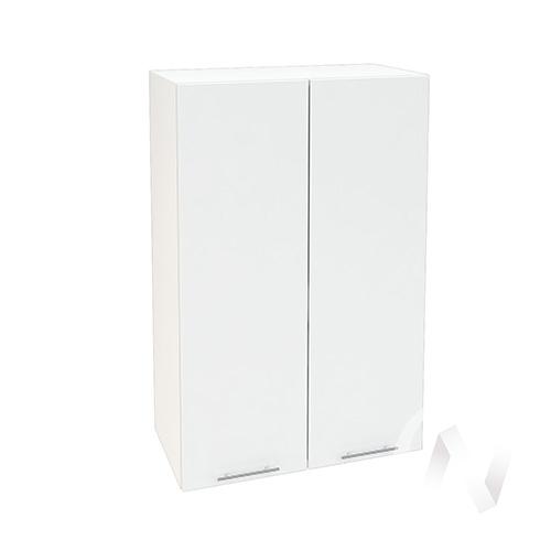 """Кухня """"Валерия-М"""": Шкаф верхний 609, ШВ 609 новый (белый глянец/корпус белый)"""