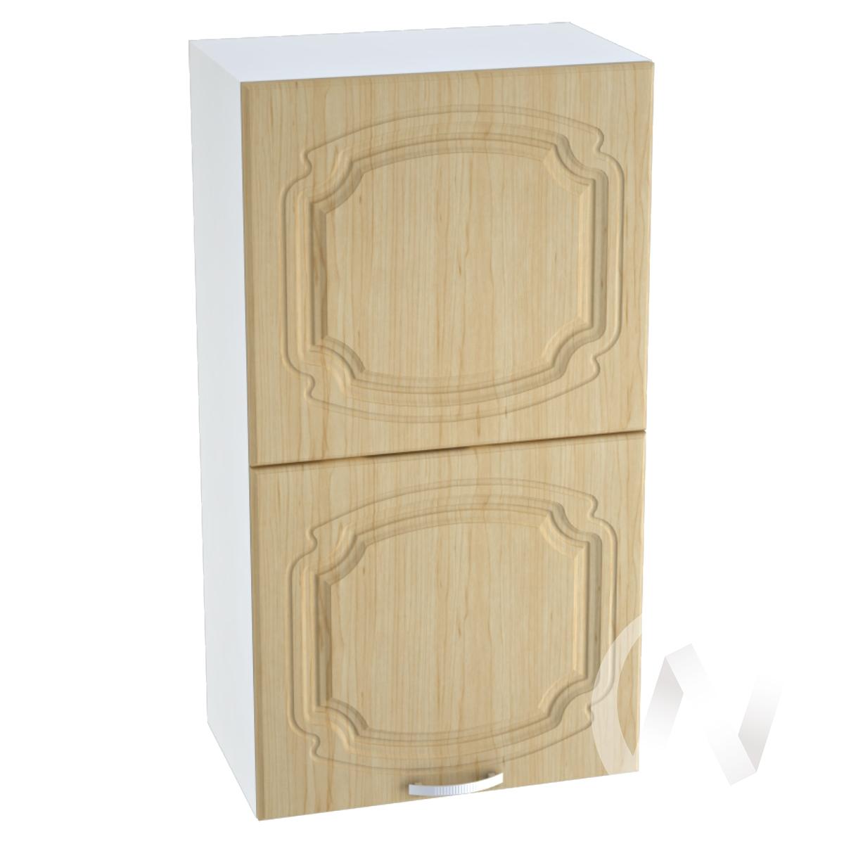 """Кухня """"Настя"""": Шкаф верхний горизонтальный 502, ШВГ 502 (Береза/корпус белый)"""
