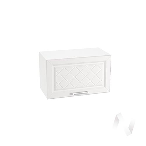 """Кухня """"Вена"""": Шкаф верхний горизонтальный 600, ШВГ 600 (корпус белый)"""