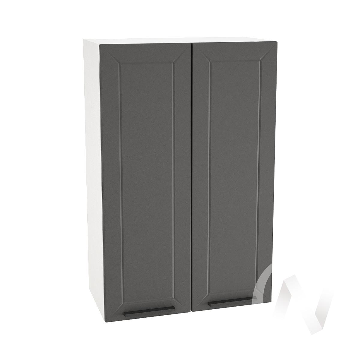 """Кухня """"Глетчер"""": Шкаф верхний 609, ШВ 609 новый (Маренго силк/корпус белый)"""