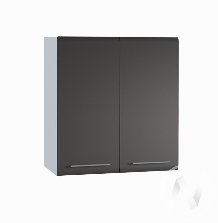 """Кухня """"Люкс"""": Шкаф верхний 600, ШВ 600 новый (Шелк венге/корпус белый)"""