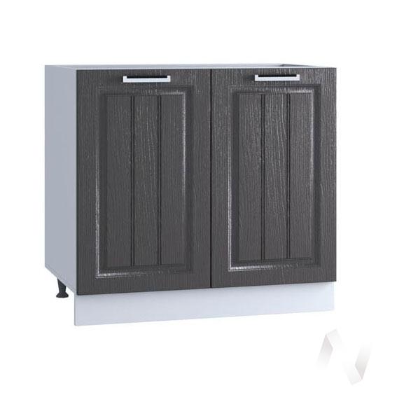 "Кухня ""Луксор"": Шкаф нижний 800, ШН 800 (Клен серый/корпус белый)"
