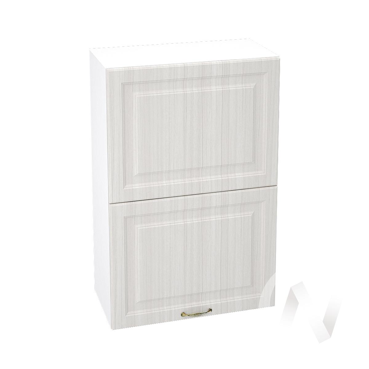 """Кухня """"Виктория"""": Шкаф верхний горизонтальный 602, ШВГ 602 (корпус белый)"""