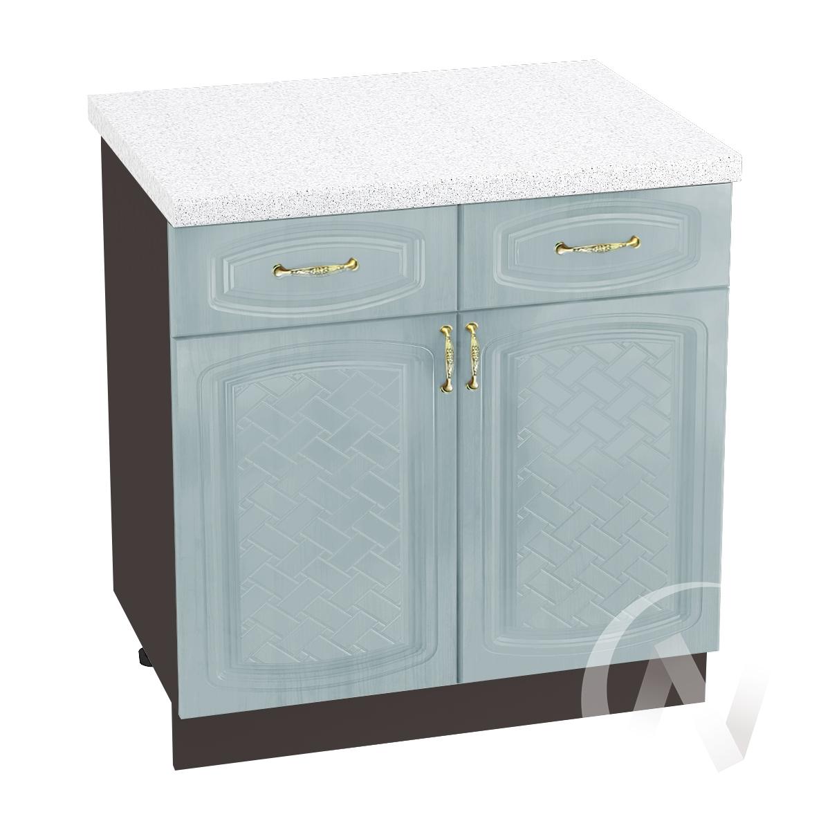 "Кухня ""Сити"": Шкаф нижний с ящиками 800, ШН1Я 800 (корпус венге)"