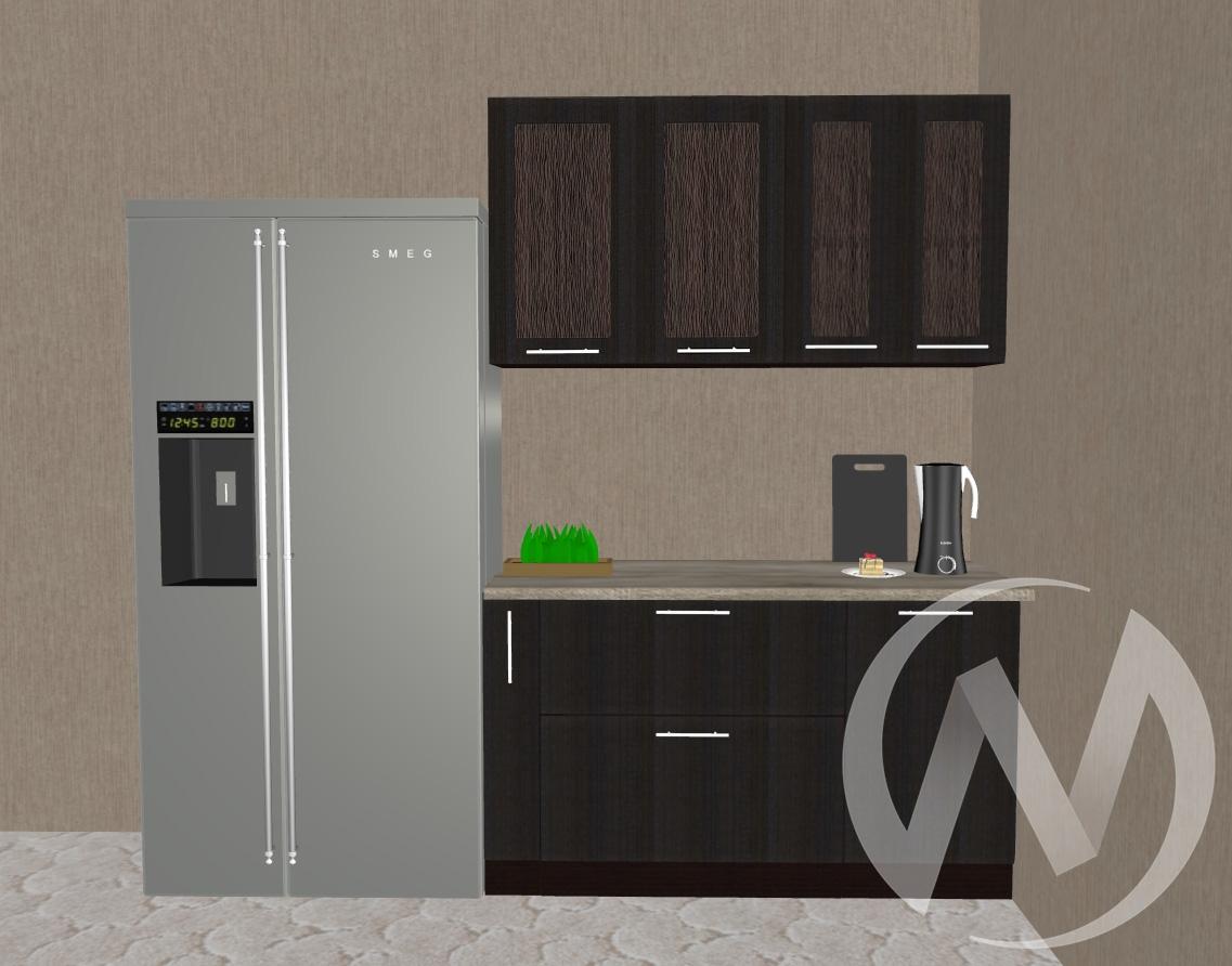 Кухня Люкс шелк венге 1,4 №1