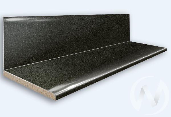 Столешница 3000*600/38мм (№ 21г черное серебро) в заводской упаковке