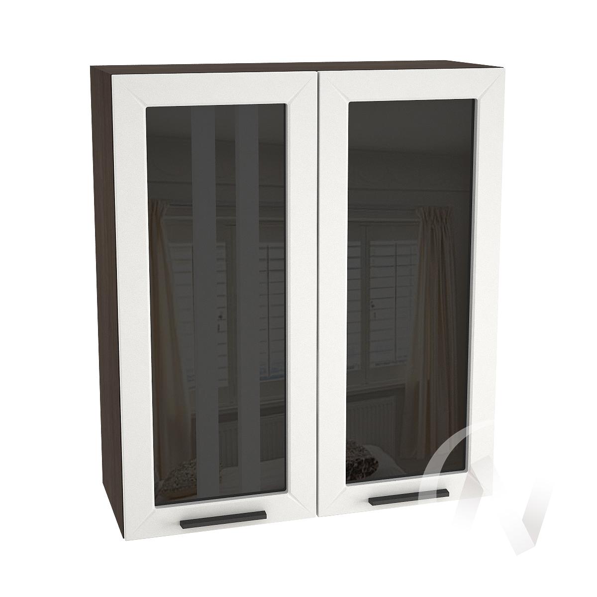 """Кухня """"Глетчер"""": Шкаф верхний 809, ШВС 809 новый (Айленд Силк/корпус венге)"""