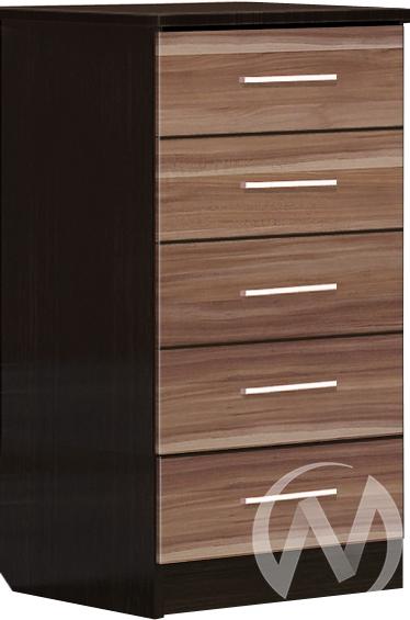 Токио Комод 5 ящиков (венге-ясень шимо темный) недорого в Томске — интернет-магазин авторской мебели Экостиль