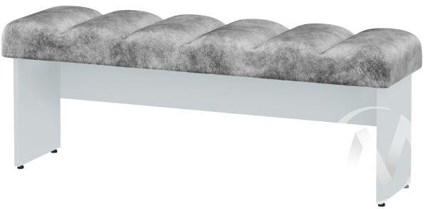 Тумба ПФ-01 МС Мемори (белый/серый)
