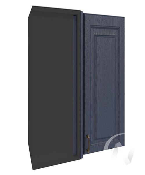 """Кухня """"Ницца"""": Шкаф верхний угловой 699, ШВУ 699 (Дуб чернильный/корпус венге)"""
