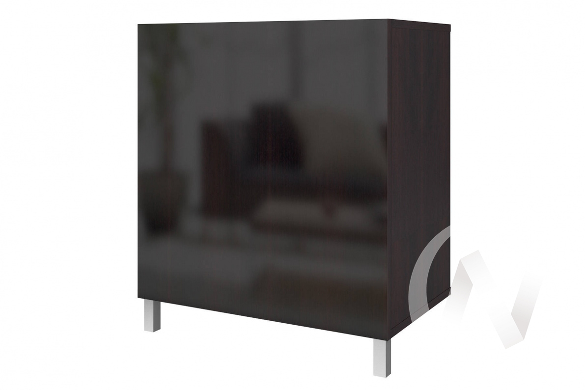 """(1)Шкаф высокий """"Прато"""" (Дуб феррара /Дуб феррара глянец)"""