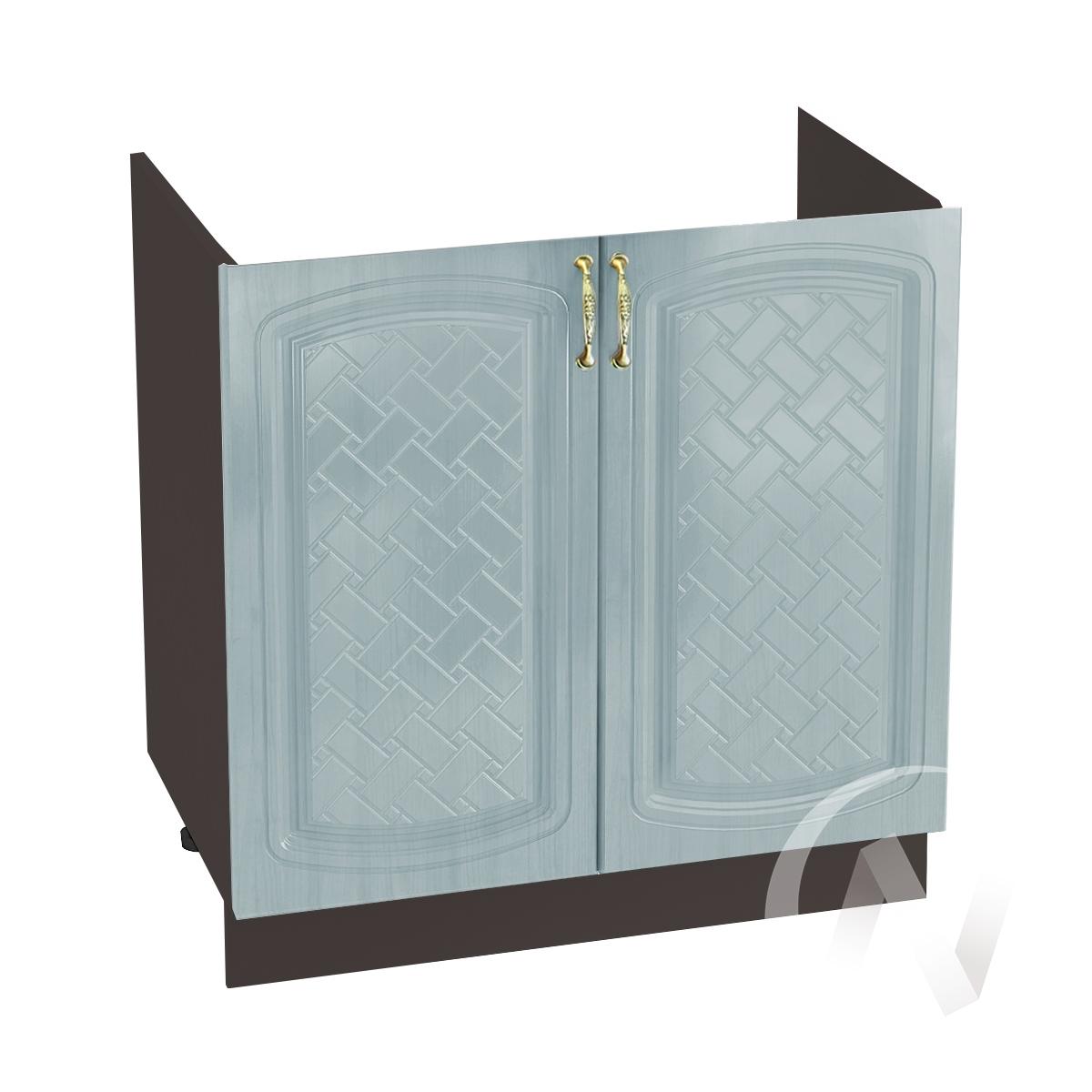 """Кухня """"Сити"""": Шкаф нижний под мойку 800, ШНМ 800 (корпус венге)"""