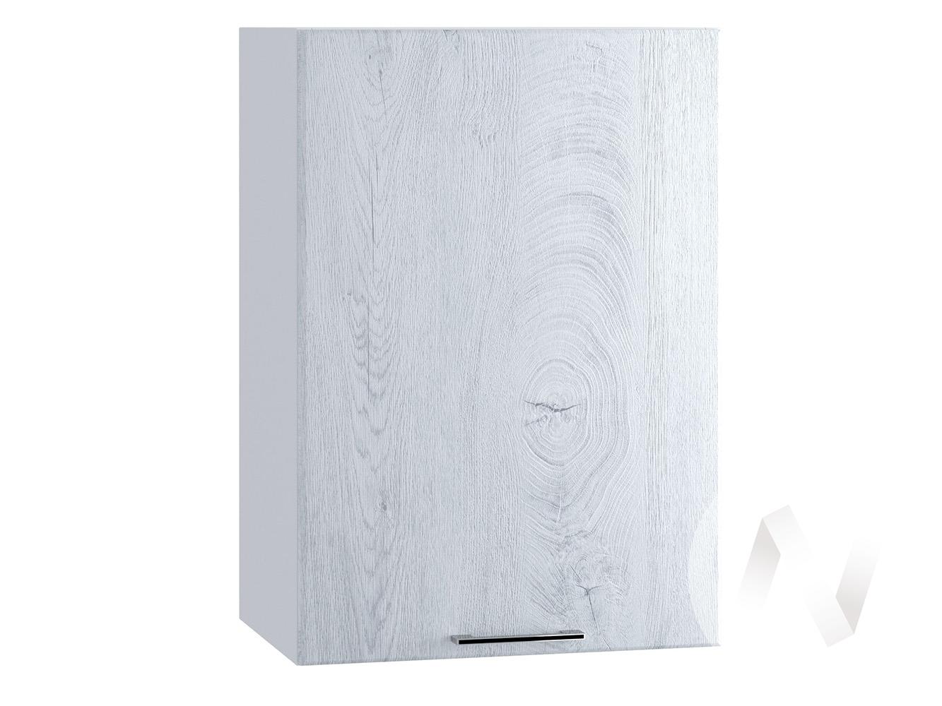 "Кухня ""Палермо"": Шкаф верхний 450, ШВ 450 (Дуб остин серый/корпус белый)"