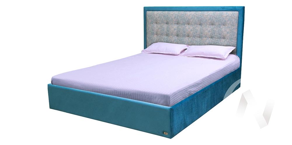 Кровать Люкс 1,6х2,0хh1,16 велюр Стелла 5/Талисман 14 5 категория недорого в Томске — интернет-магазин авторской мебели Экостиль