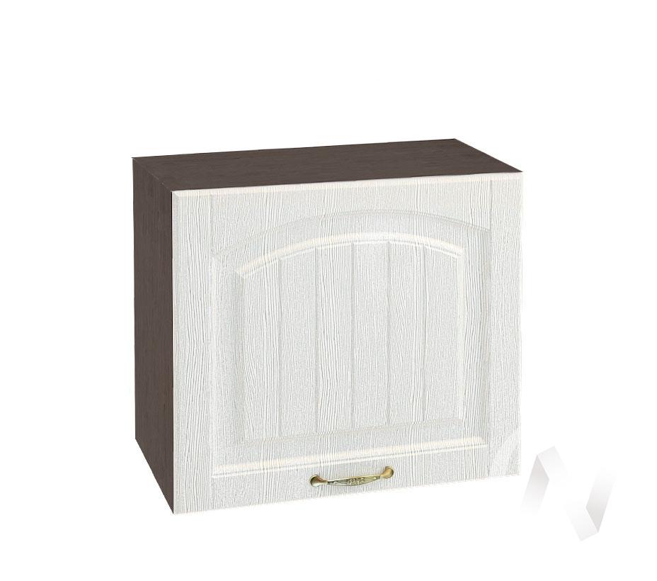 """Кухня """"Верона"""": Шкаф верхний горизонтальный 509, ШВГ 509 (ясень золотистый/корпус венге)"""