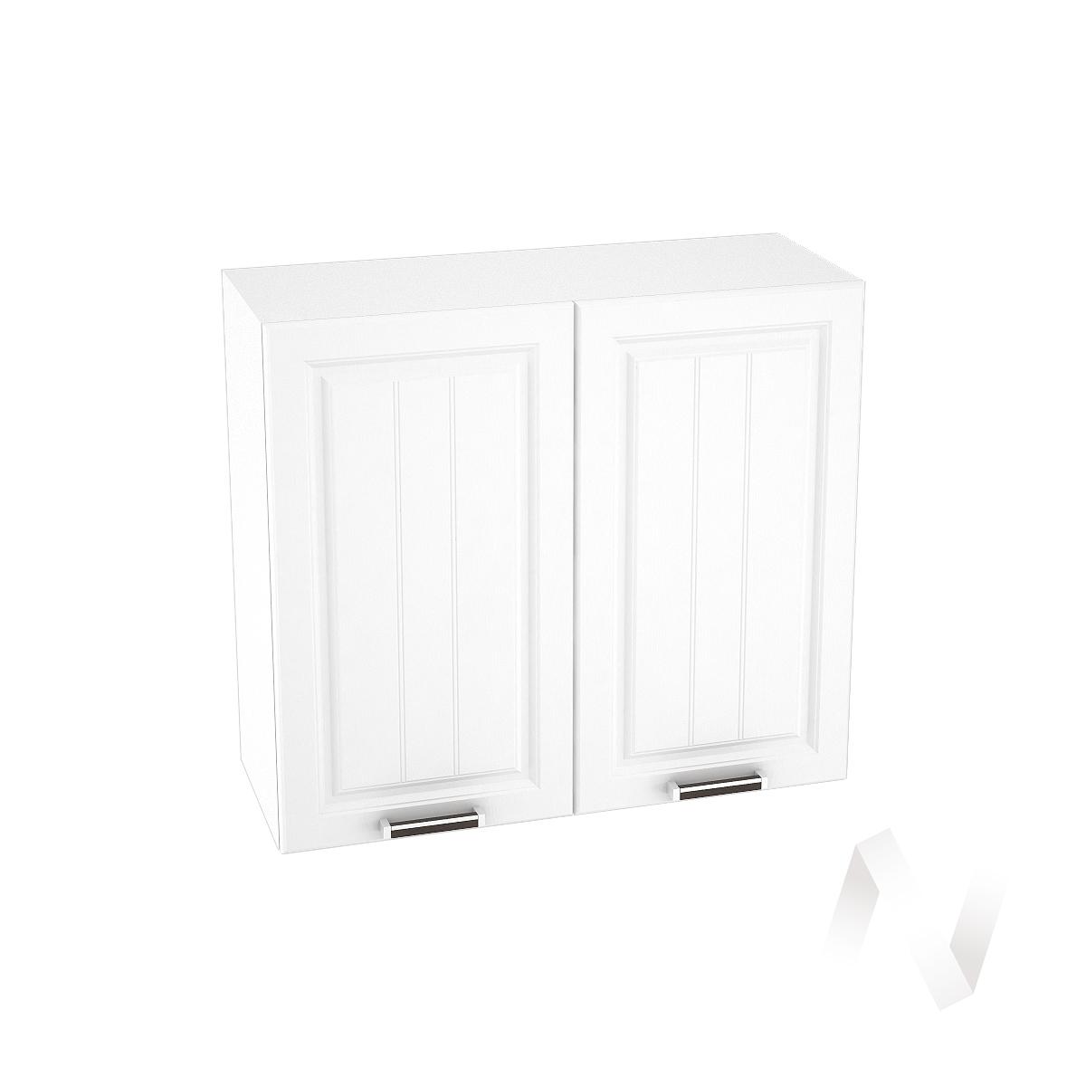 """Кухня """"Прага"""": Шкаф верхний 800, ШВ 800 новый (белое дерево/корпус белый)"""