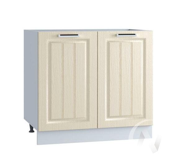 "Кухня ""Луксор"": Шкаф нижний 800, ШН 800 (Клен крем/корпус белый)"