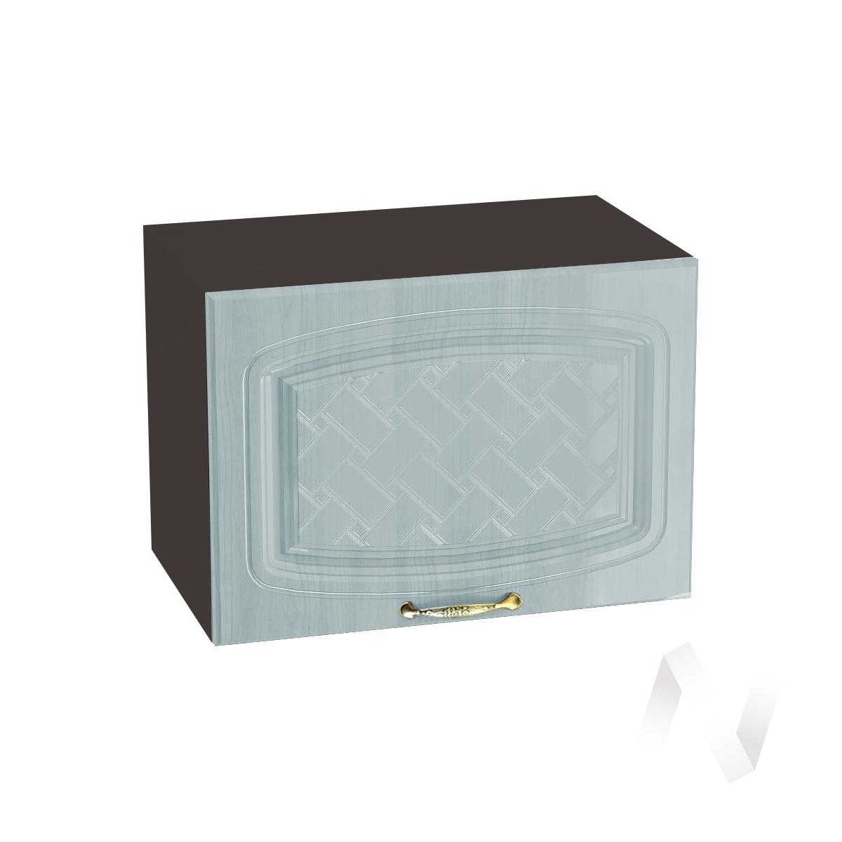 """Кухня """"Сити"""": Шкаф верхний горизонтальный 500, ШВГ 500 (корпус венге)"""