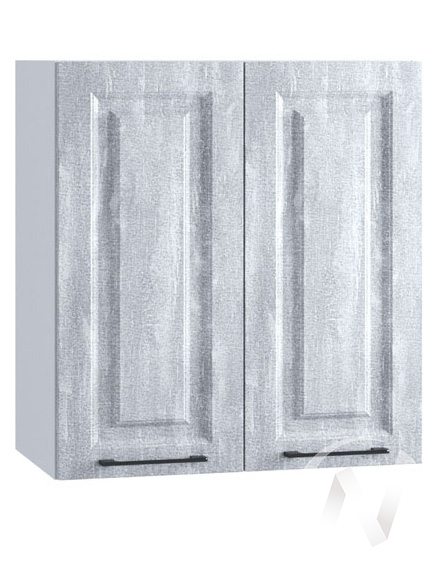"Кухня ""Либерти"": Шкаф верхний 600, ШВ 600 (Холст натуральный/корпус белый)"