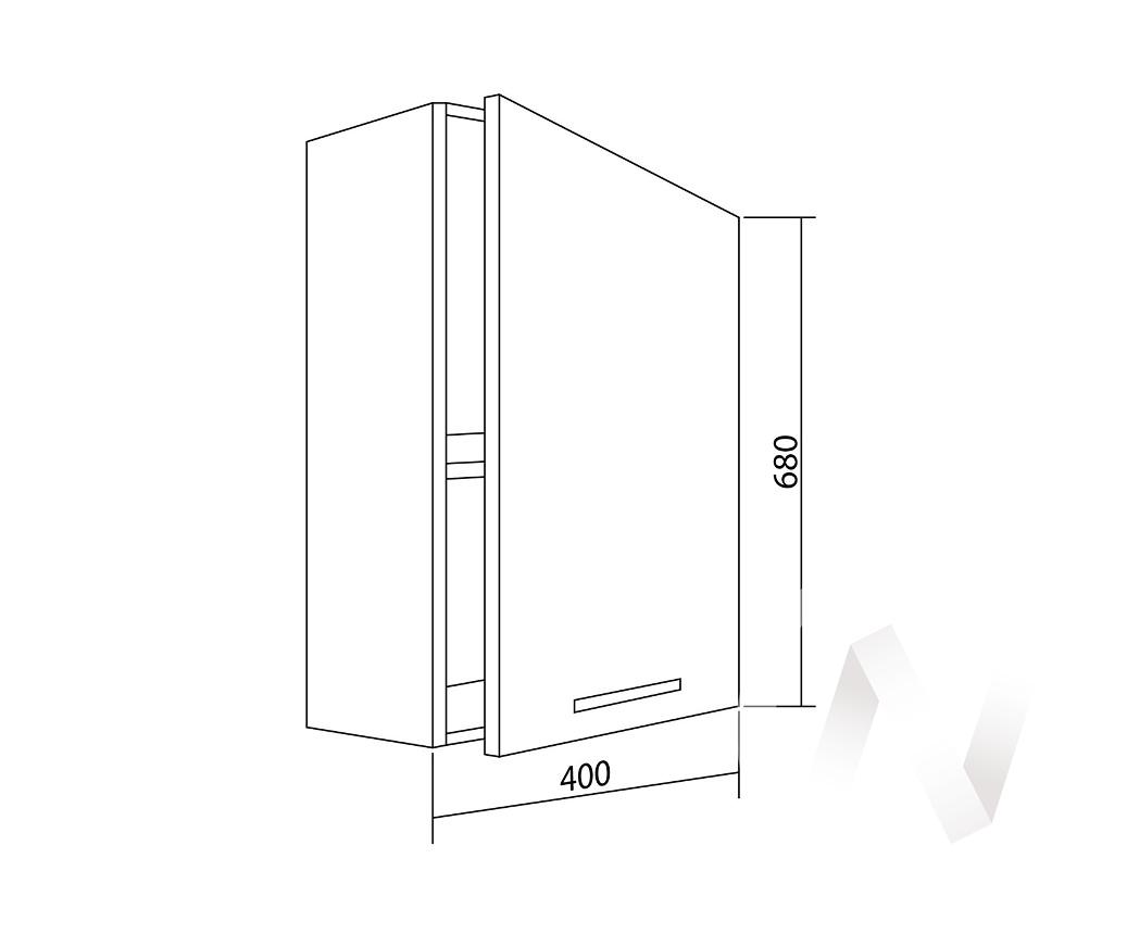 "Шкаф навесной (400) ""Белла"" СТЛ.281.01"