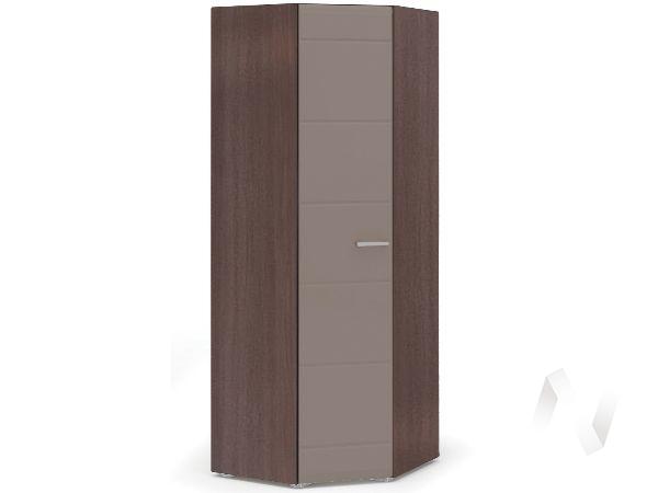 Шкаф угловой Спальня Вегас (шимо темный/кофе с молоком)