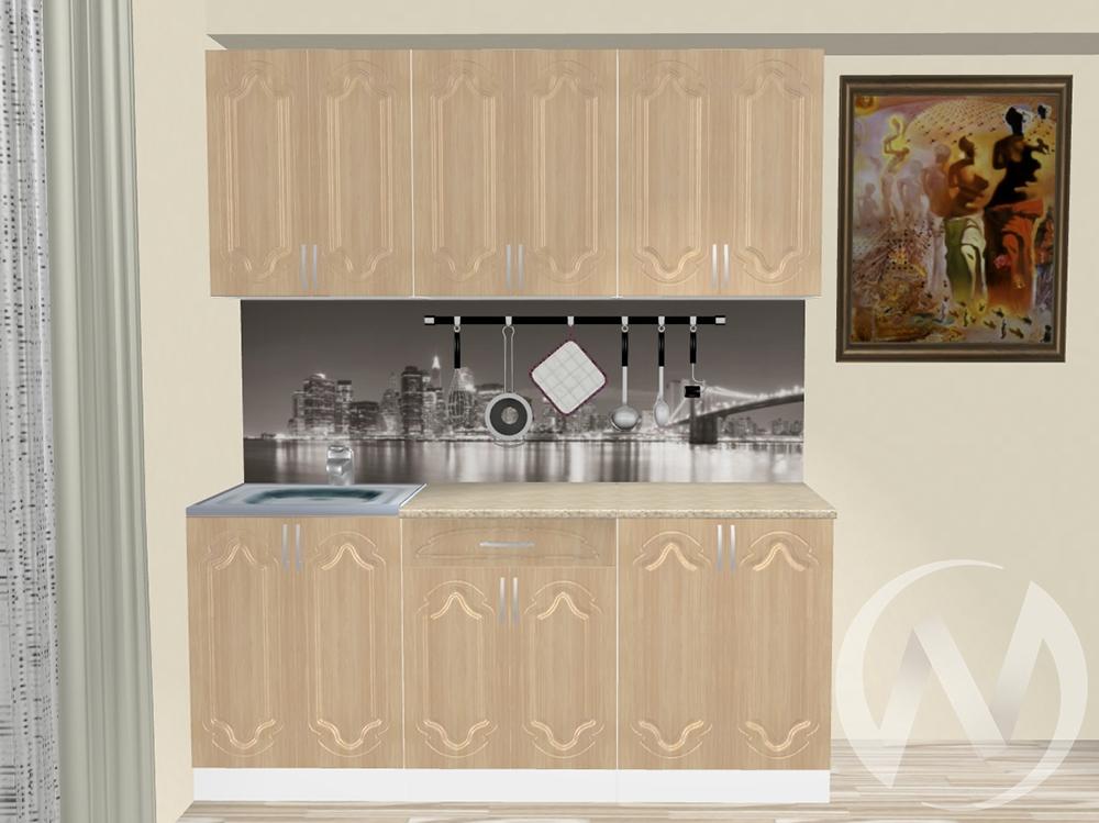 """Кухня """"Настя"""" 1.8м (Береза/корпус белый) корпусно-фасадная  в Томске — интернет магазин МИРА-мебель"""