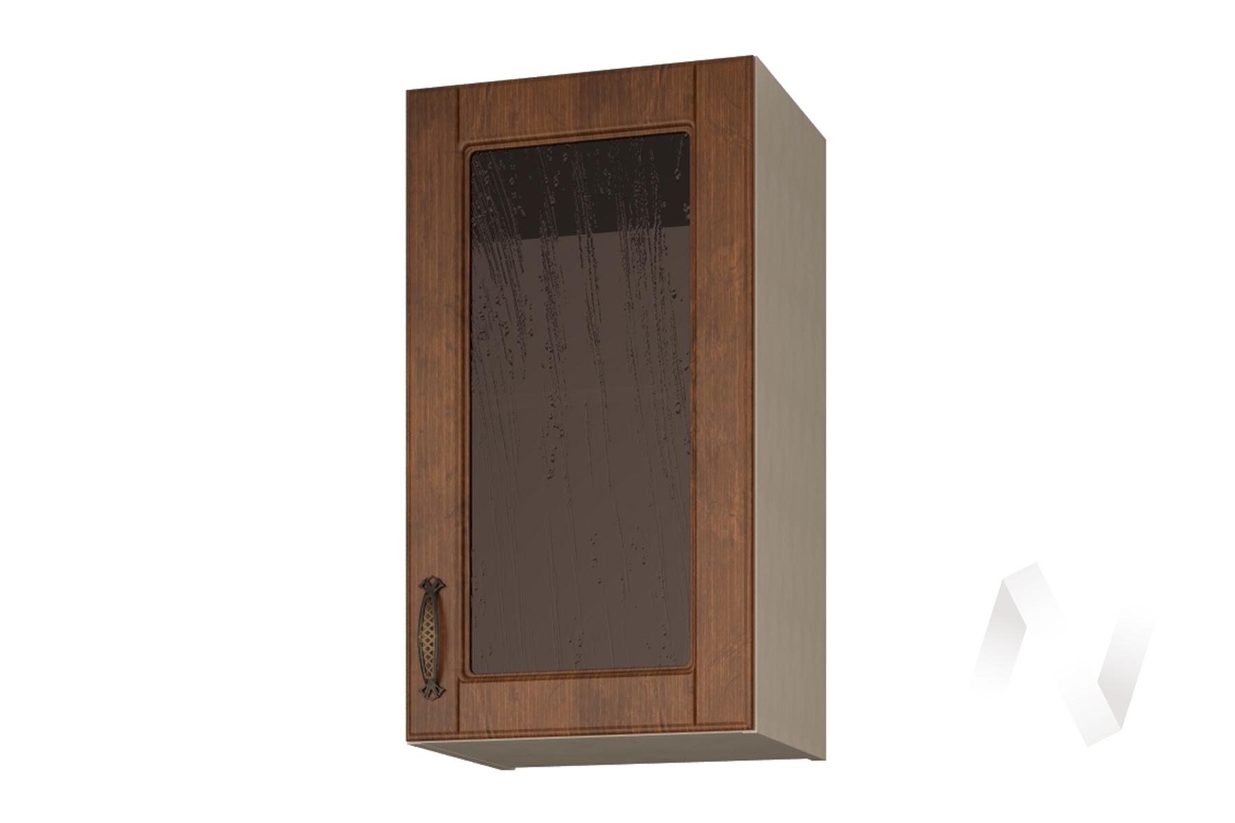 """Шкаф навесной со стеклом 400 """"Николь"""" Прованс"""