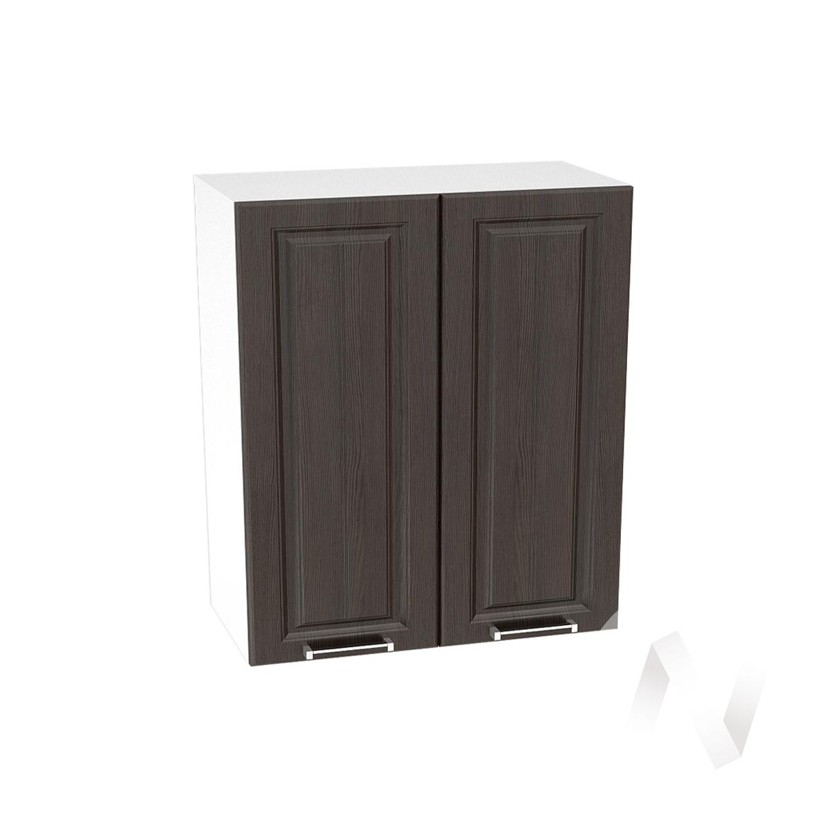 """Кухня """"Прага"""": Шкаф верхний 600, ШВ 600 новый (венге/корпус белый)"""