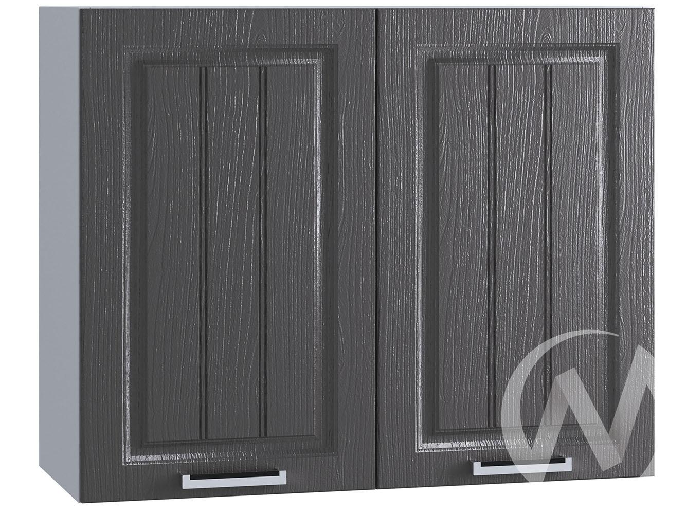 "Кухня ""Луксор"": Шкаф верхний 800, ШВ 800 (Клён серый/корпус белый)"